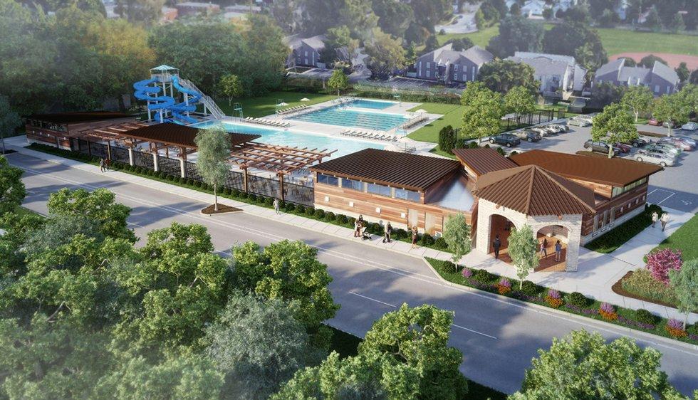 Grandview Heights Municipal Swimming Pool Grandview Heights Grandview Heights Renovations