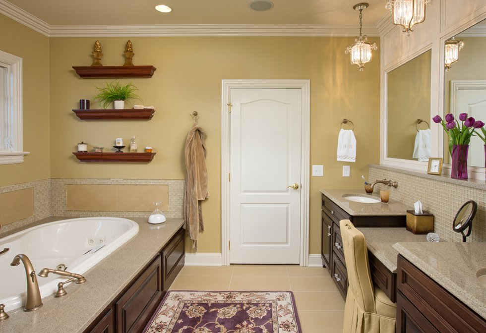 Remodel transforms dublin area master bathroom cityscene for Bathroom design dublin