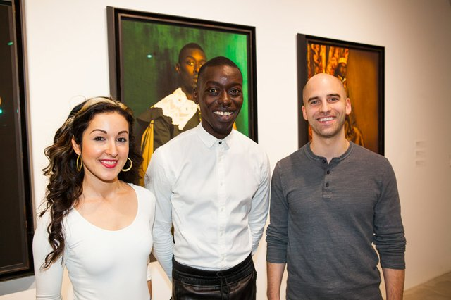 Alex Frommeyer and Amelia Gandara with Artist Omar Victor Diop 2.jpg