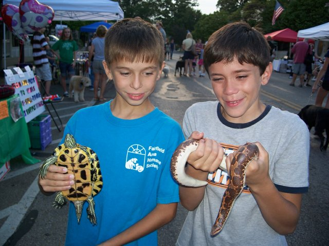 PetFest turtle, snake.JPG