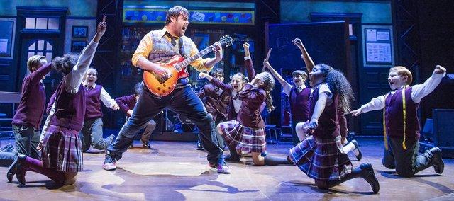 School of Rock Original London Cast. Photo by Tristram Kenton..jpg