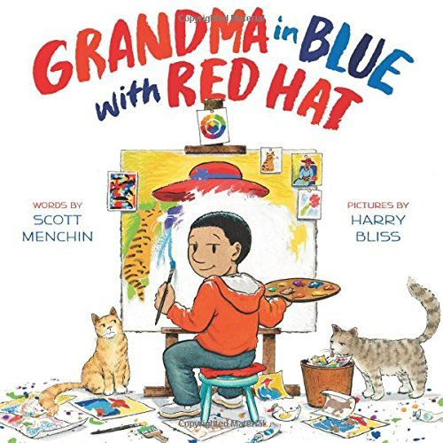 Grandma in Blue with a Red Hat.jpg