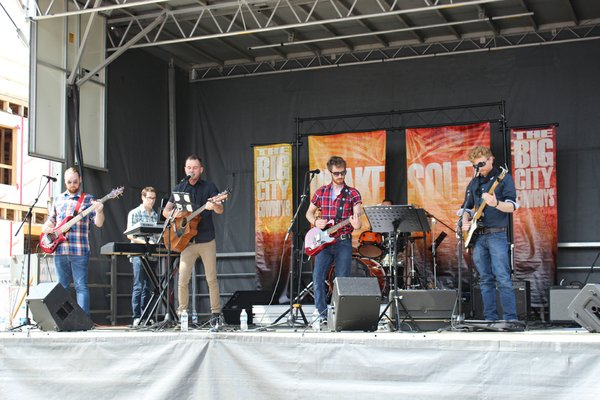 Band Playing at Arts in the Alley.JPG