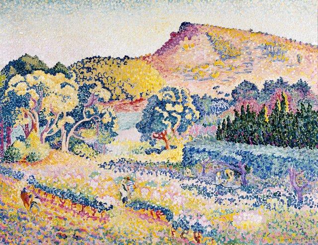 Cross - Paysage avec le cap NeÌgre (1906) 2.jpg