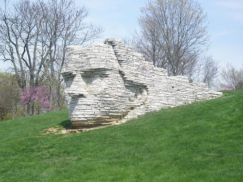 Leatherlips by Ralph Helmick in Scioto Park.1.jpg