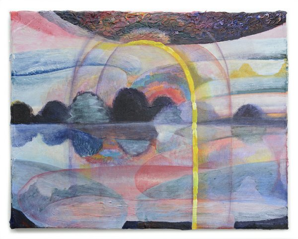 Arch with Yellow Beam 2017, 11_ x 14_, acrylic on canvas melissa_vogley_woods_2017.jpg