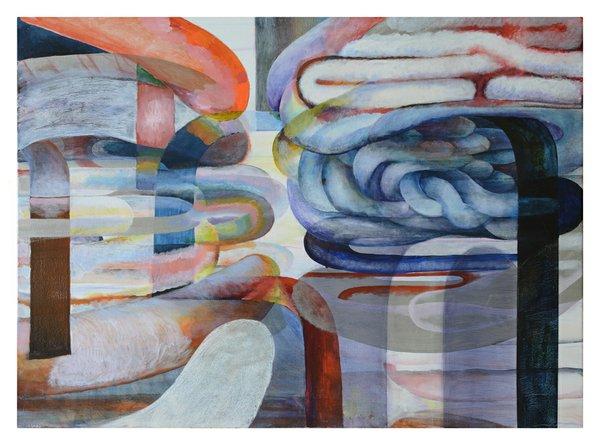 Rainbow Whip, Melissa Vogley Woods, 2017, 42_x58_, Acrylic on canvas .jpg