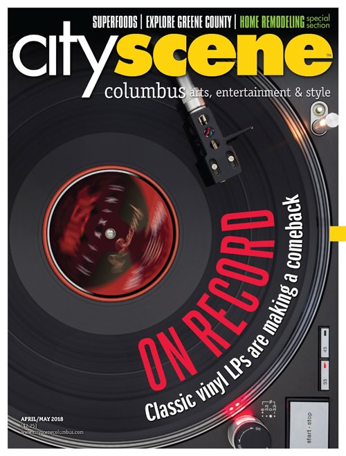 CityScene April 2018 Cover