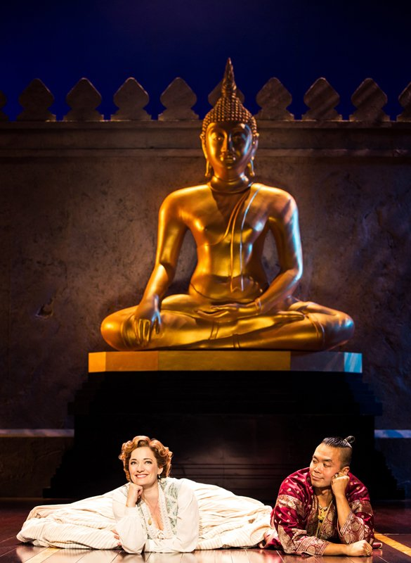 Laura Michelle Kelly and Jose Llana in Rodgers & Hammerstein's The King and I. Photo by Matthew Murphy.jpg