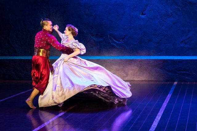 Jose Llana and Laura Michelle Kelly in Rodgers & Hammerstein's The King and I.  Photo by Matthew Murphy.jpg