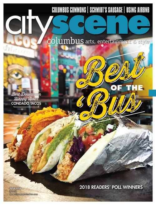 CityScene July 2018 Cover