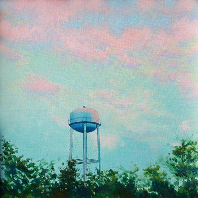 Charney_Pink Water Tower, oil on Masonite, 8 x 10, 2017_WEB.jpg