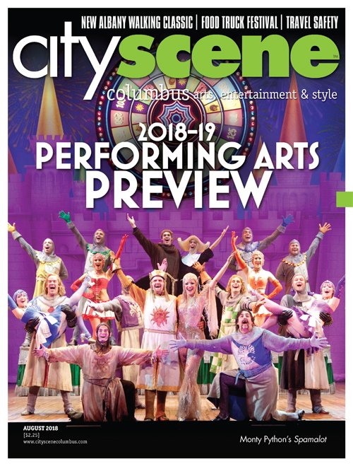 CityScene August 2018 Cover