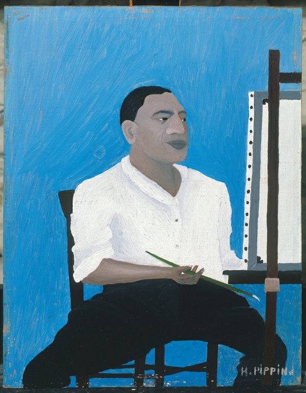 CMA I Too Sing America; Horace Pippin Self-Portrait 1941 Albright Knox Art Gallery (002).jpg