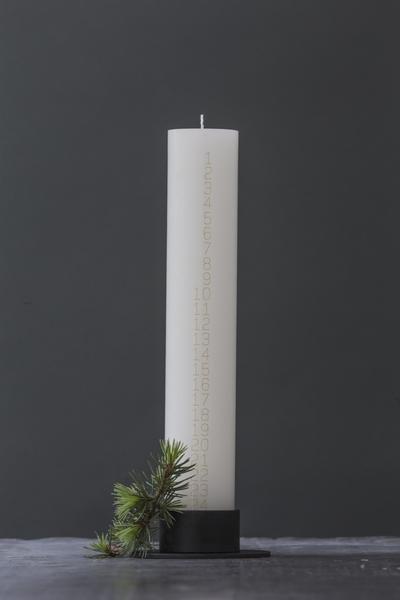 Hygge Life | Christmas Countdown Candle