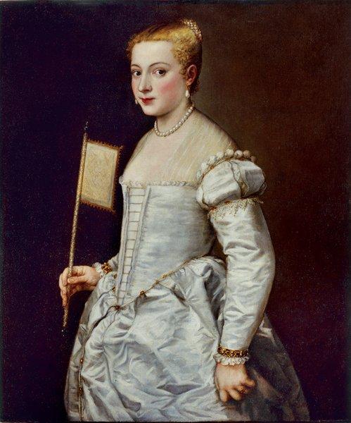 Bildnis einer Dame in Weiß