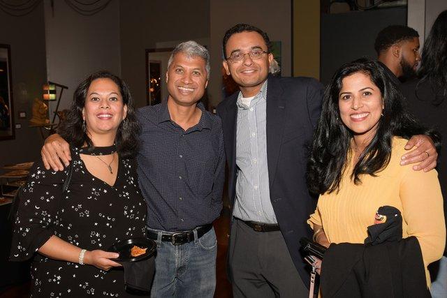 Charuta Hunshikatti, Nikhil Hunshikatti, Raja & Meera Sundararajan.jpg