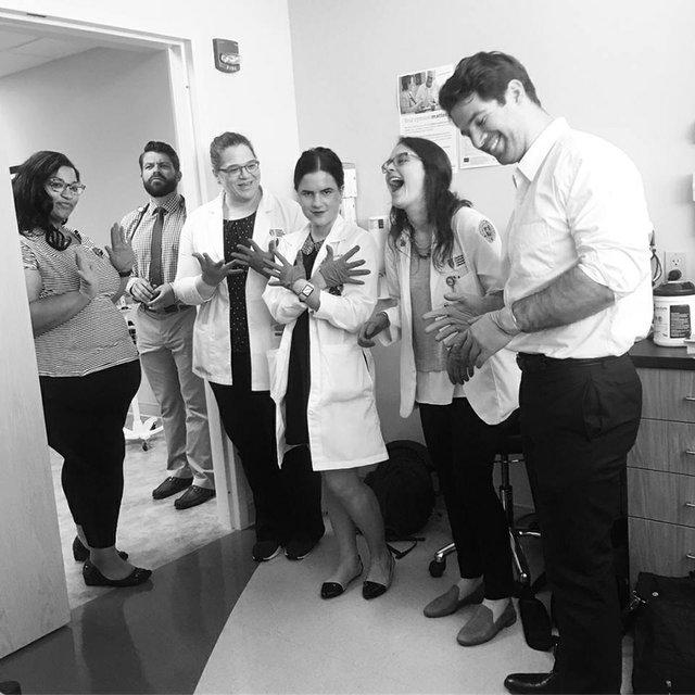 Dr. Oberschmidt teaching OUHCOM medical students .jpg