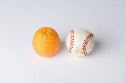 1 Serving of Fruit = Baseball