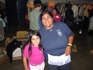 Volunteering at the Junior League's Bargain Box.jpg