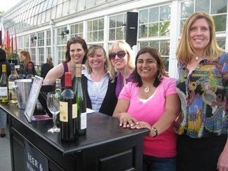 Raising money for Franklin Park Conservatory as a celebrity bartender.jpg