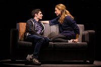 Ben Levi Ross as 'Evan Hansen' and Jessica Phillips as 'Heidi Hansen' in the First North American Tour of Dear Evan Hansen. Photo by Matthew Murphy. 2018.jpg