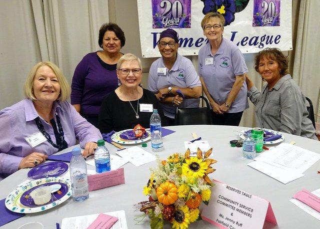 DSC09432 Susan Lobdell, Irene Katsares, Camille Baker, Linda Beal, Becky Ashcroft and Jenny Ruff.JPG