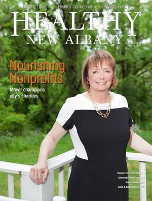 Healthy New Albany Cover July 2014