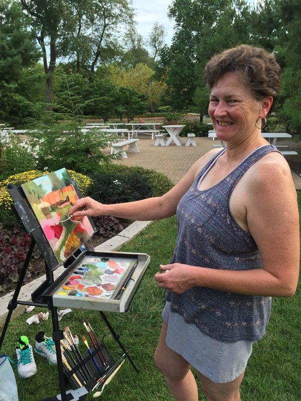 Carrie Boerio plein air painting.JPG