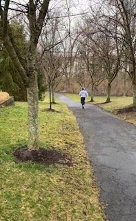 Maddox Baker, 9, training on a daily run.jpg