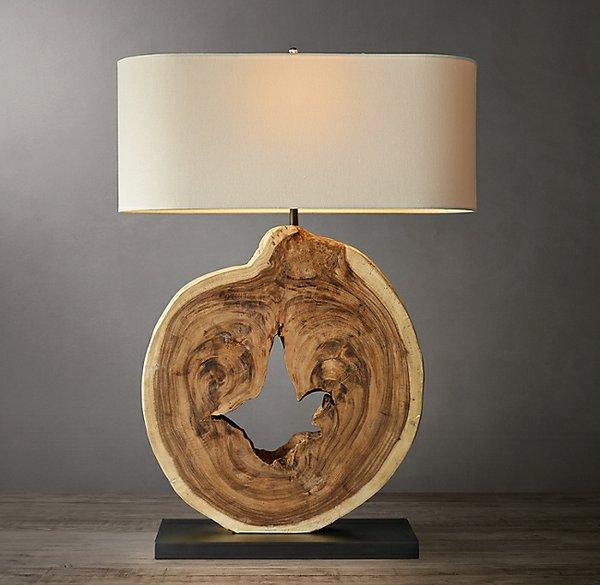 Restoration Hardware wood lamp.jpg
