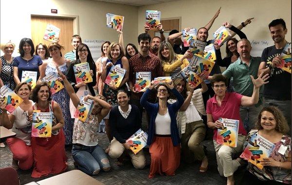Fresch having fun with bilingual teachers in Odessa TX.jpg