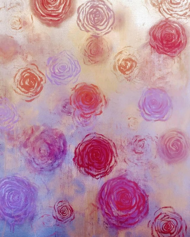Sean Christopher Gallery. The Rose Painting Series. By Laurinda Stockwell..jpeg