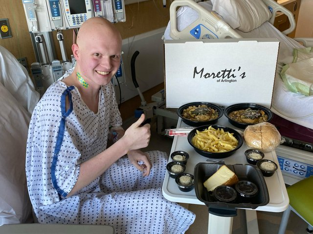 Papesh's post in the Support Central Ohio Restaurants FB group about Moretti's and our young Jerome student battling cancer during Covid. Best feel good post that month.
