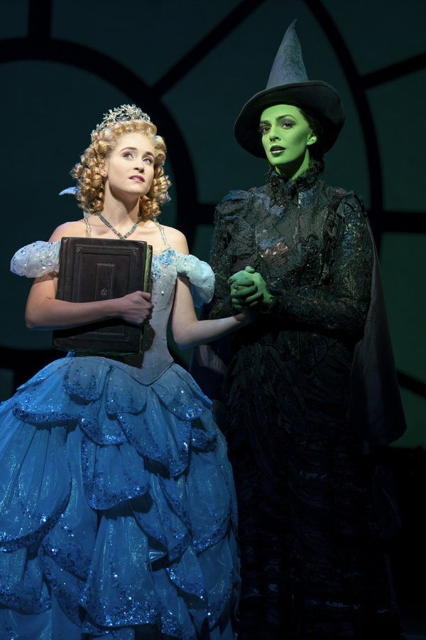 Allison Bailey & Talia Suskauer in the North American Tour of WICKED (C). Photo by Joan Marcus.jpg