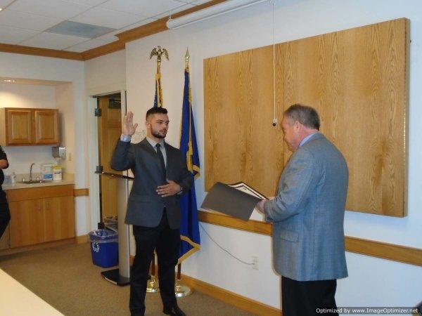 Matt Dalesio oath.JPG