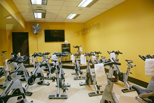 Spinning room at Vita Fitness Corazon