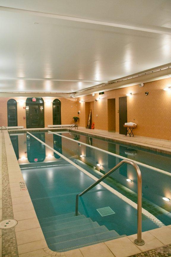 Lap pool at Vita Fitness Corazon