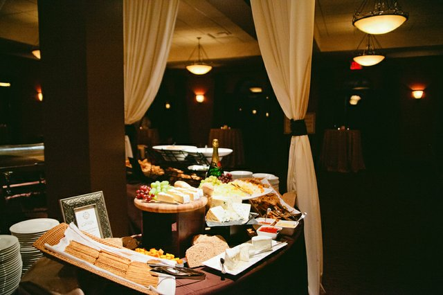 Dining area at The Venue at Corazon