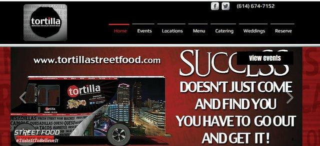 Tortilla Street FoodDowntown Area