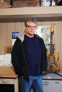 Tony Cochran, Cartoonist, Agnes, and owner, Tony Cochran Guitars