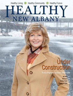 Healthy New Albany Cover January 2014