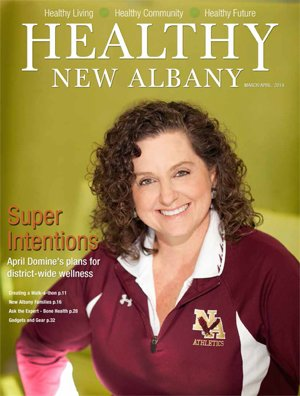 Healthy New Albany Cover March 2014
