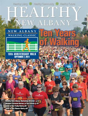Healthy New Albany Cover September 2014