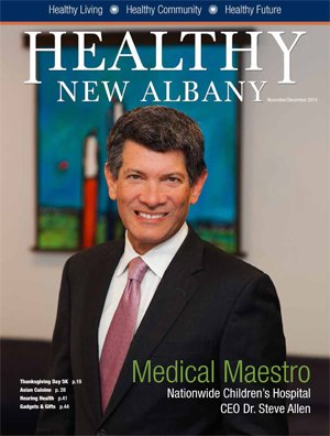 Healthy New Albany Cover November 2014