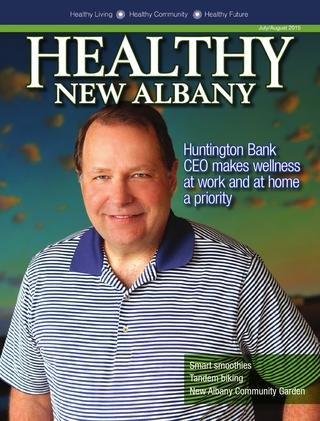 Healthy New Albany Cover July 2015