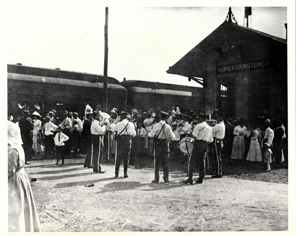 #165 IOOF Band greets arrivals at Pickerington Depot on Labor Day.jpg