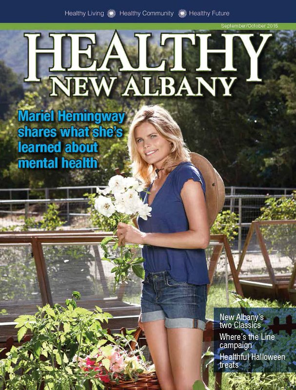 Healthy New Albany Cover September October 2015