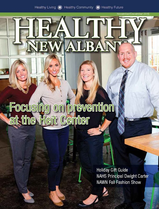 Healthy New Albany Cover November December 2015