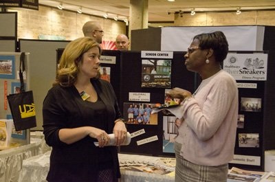 Catching up at the Community Fair